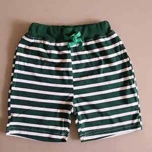 Other - Boy's green striped shorts size 6